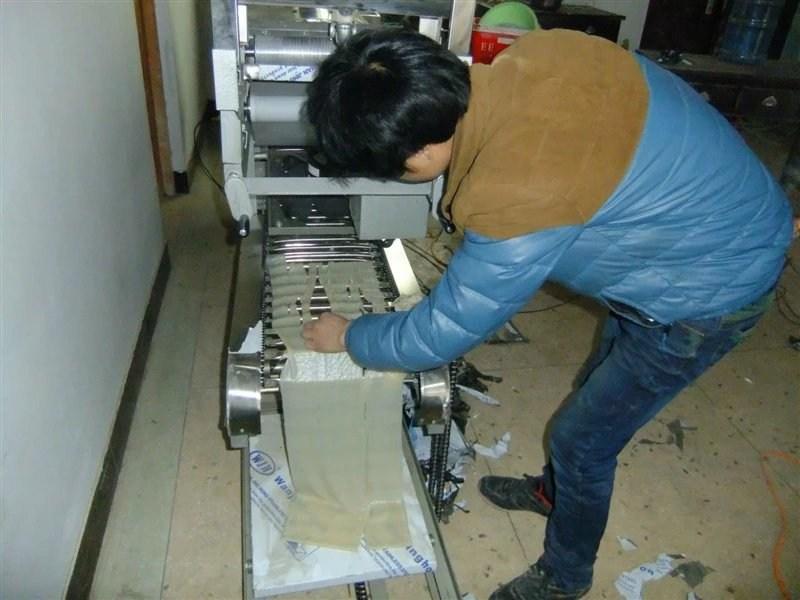 郑州全自动凉皮机生产厂家、选来选去还是河南如德机械