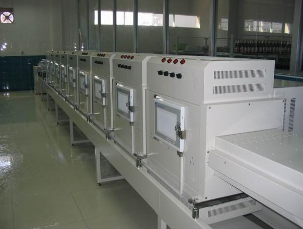 隧道式宠物饲料微波干燥设备、宠物饲料干燥生产线