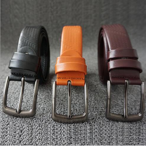 厂家直销男士针扣皮带休闲合金针扣腰带男装配饰腰饰赠品皮带现货