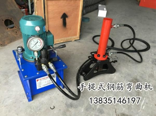 广东江门万泽锦达牌WQJ-X40建筑弯曲机机械高效钢筋弯曲机