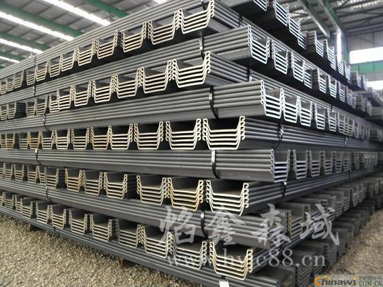 淮安拉森钢板桩厂家-焰鑫森域钢板桩厂家