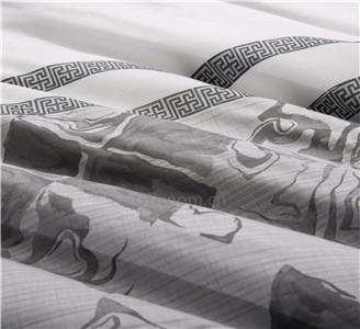 广州奥棉主题酒店色织被套供应商