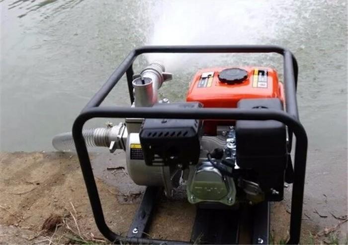 临清高扬程汽油抽水泵临清家用3寸汽油抽水泵厂家