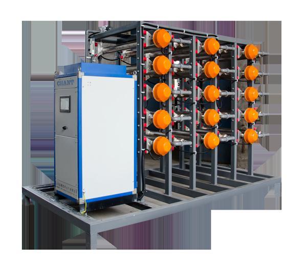 电源电路的工作原理如下。220V电压经变压器T降压、D1~D4整流、C1滤波,以及D5、D6、C2、C3组成的倍压电路后,电压Vde=60V;Rw、R3组成分压电路;TL431、R1组成取样放大电路;9013、R2组成限流保护电路;场效应管K790作调整管(可直接并联使用);C5用于输出滤波。稳压过程是:当输出电压降低时,f点电位降低,经TL431内部放大使e点电压增高,经K790调整后,b点电位升高;反之,当输出电压增高时,f点电位升高,e点电位降低,经K790调整后,b点电位降低。从而使输出电压稳定。