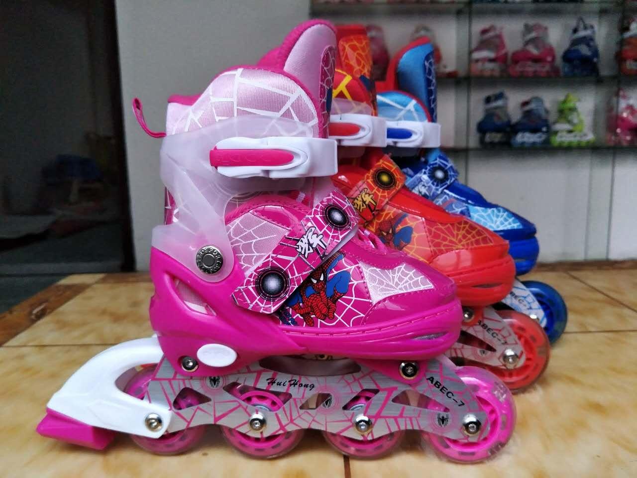 甩卖轮滑鞋、惠州迪士尼儿童溜冰鞋鞋专业供应