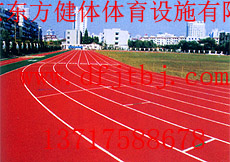 昌平印花型防滑塑胶跑道建设