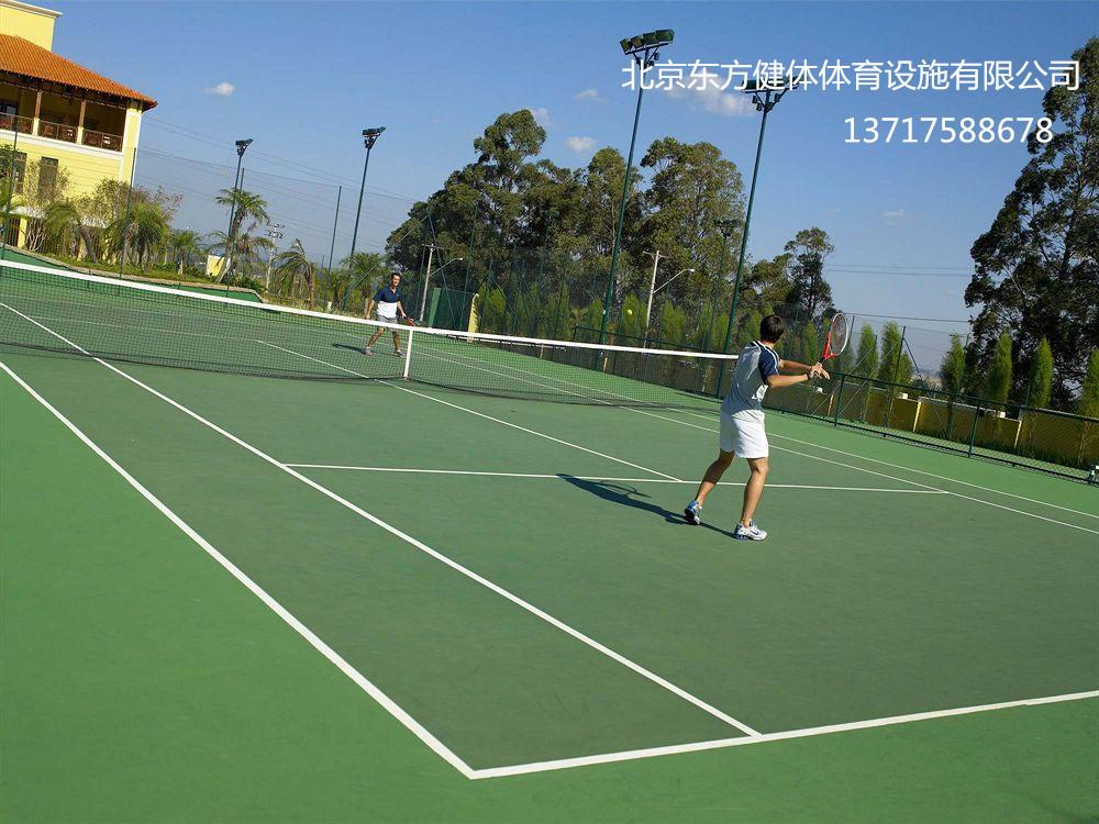 东城 丙烯酸网球场施工   西城网球场施工队