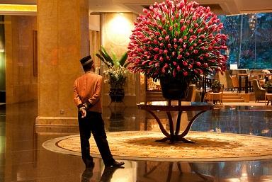 酒店软装设计的魅力艺术之酒店花艺设计