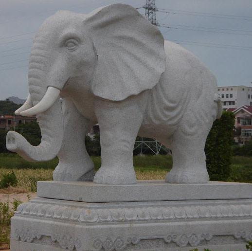 昆明有石头大象的厂家吗云南湛华石雕厂