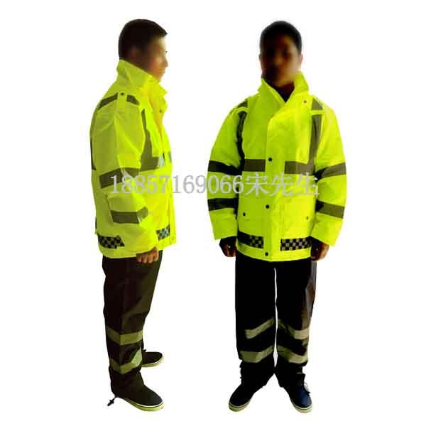 汾阳反光雨衣报价、执勤分体式雨衣