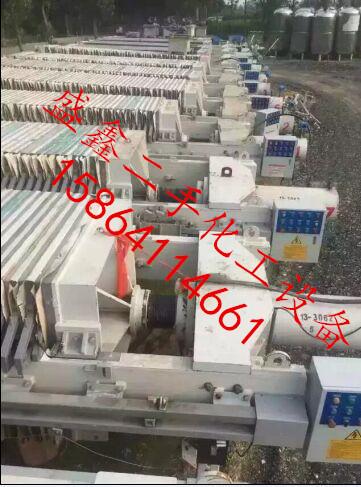 二手压滤机二手40平方压滤机厂家