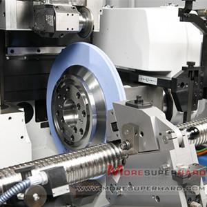 磨刀机砂轮片200mm白刚玉绿碳台式砂轮机磨钻头抛光砂轮200*25*32