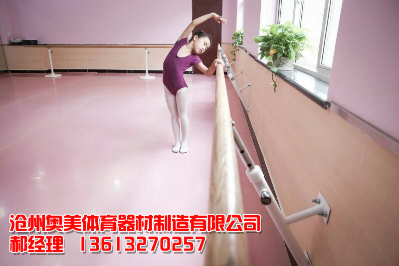 新疆阿勒泰舞蹈把杆