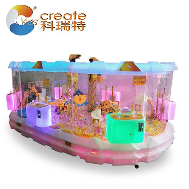 中国儿童工程乐园、要买热门外星城堡工程乐园、当选科瑞特儿童游乐园