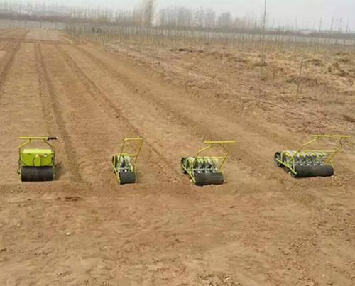 盱眙县单行蔬菜播种机手推播种机