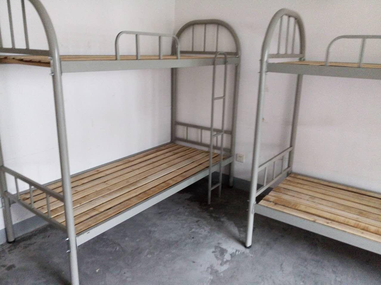 合肥双层上下铺床厂家13365606995供应高低铁架床