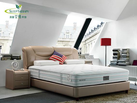 美国艾绿床垫进口零甲醇床垫品牌
