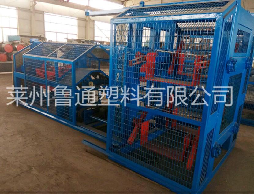 专业生产塑料绳制绳机二合一三股四股制绳机