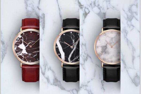 超薄皮带手表男款定制稳达时礼品手表定制厂家