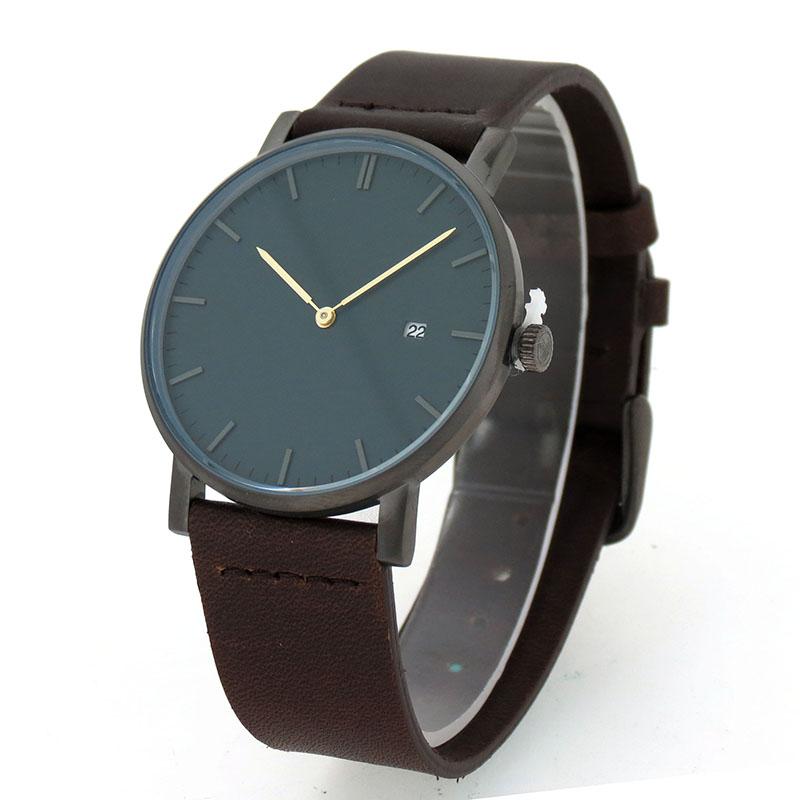 皮带手表#160简约韩版石英款式500只起订手表定制厂家稳达时