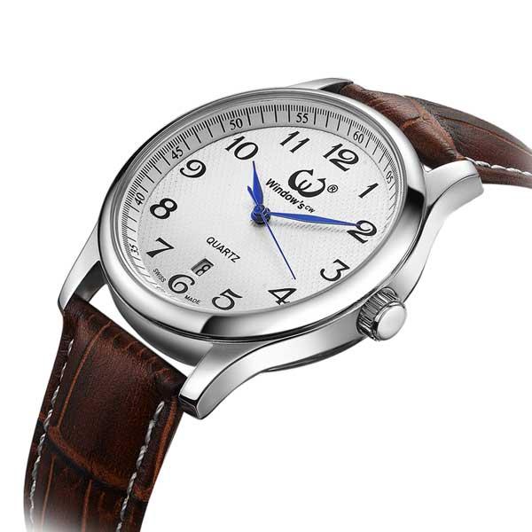 石英手表#160皮带超薄、稳达时钟表厂家定制品质超同行35