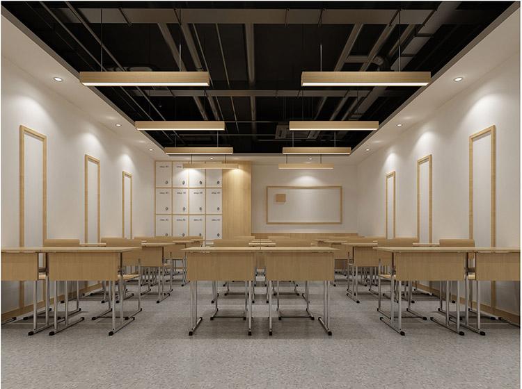 济南辅导培训教室装修设计