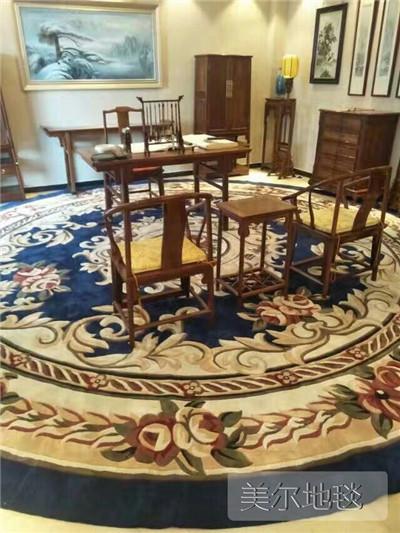 郑州手工地毯厂家 家用地毯品牌 定制办公地毯供应商