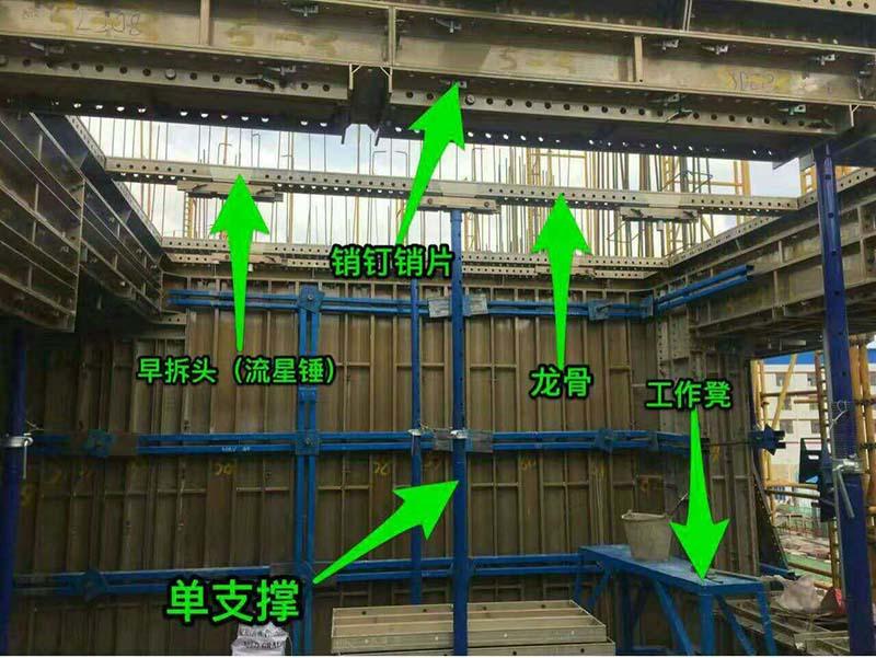 张掖建筑模板 买优惠的建筑模板优选甘肃赫然建筑模架