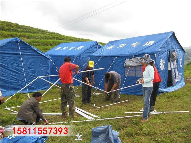 户外工地施工养蜂民用救灾加厚保暖帆布防雨住人冬季棉帐篷