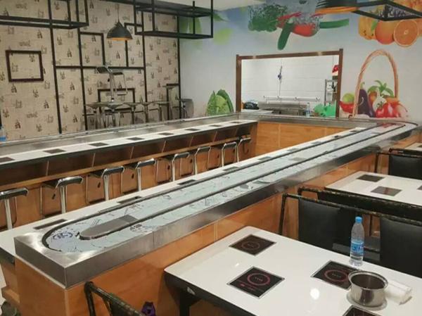 潍坊回转自助小火锅设备-供应商-全国统一免费上门安装