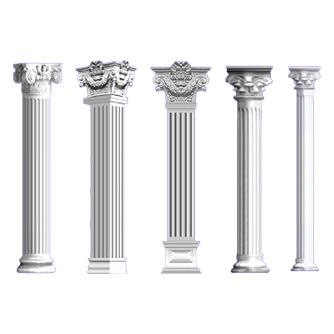 青海艺术构件罗马柱加工厂
