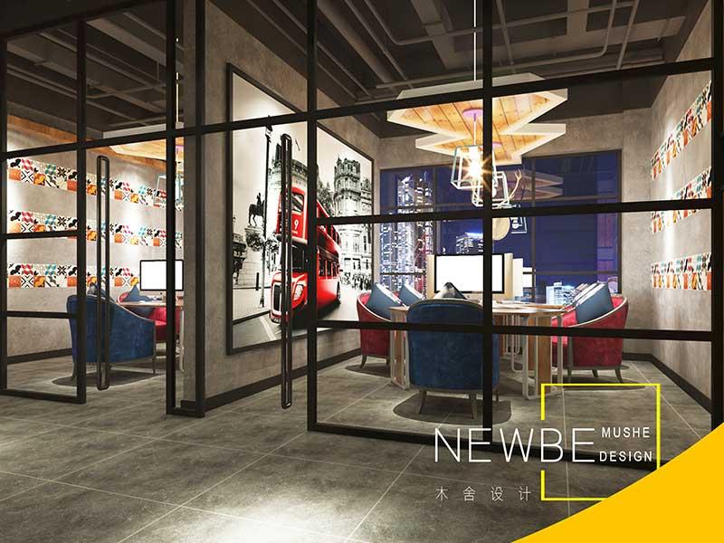 太原工装设计哪家好独具新颖的太原网咖网吧设计