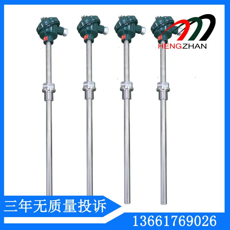 铂电阻温度传感器结构