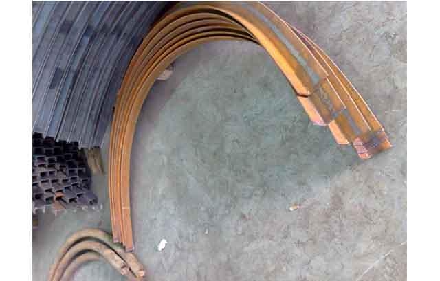 江西吉安隧道支护工字钢冷弯机