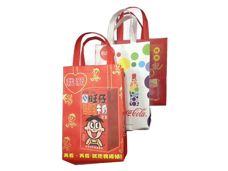 热合无纺布手提袋:温州新式的无纺布饮料袋供应
