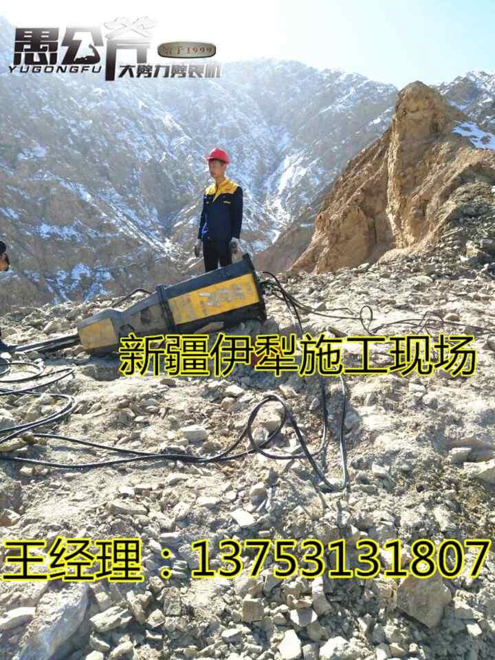通辽大型岩石矿开采劈裂机效率高不高