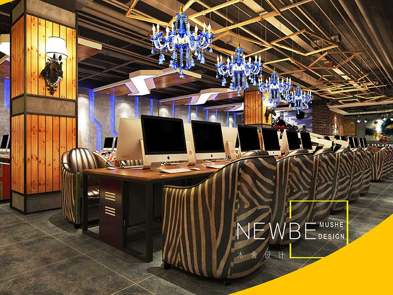 我要装修、优乐国际娱乐登录专业的太原网咖网吧设计