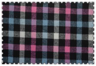 华尔纺织新款色织面料供应:色织提花布