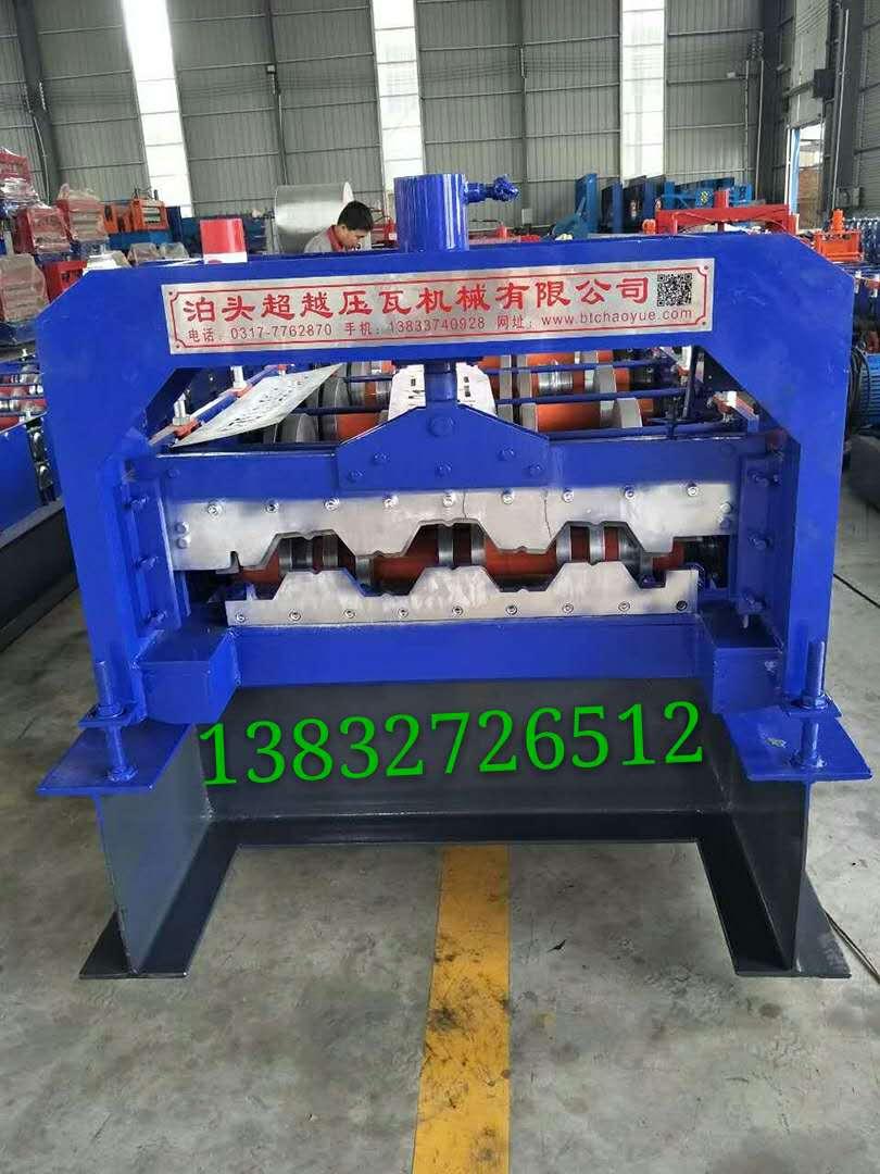 超越压瓦机厂家直销 现货供应 全自动液压750型楼承板设备