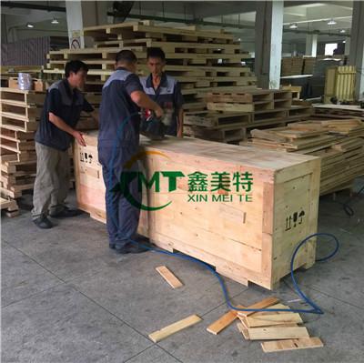 广东汕头金平出口木箱包装,大型设备木箱包装