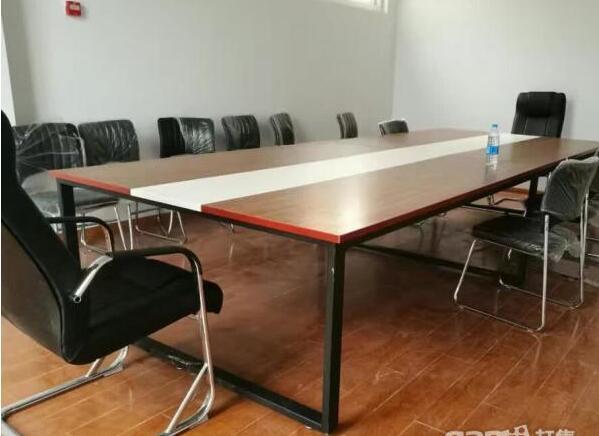 办公会议桌 合肥会客会谈长桌子 办公家具厂家直销