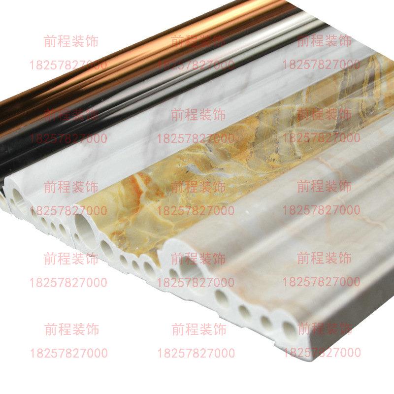 科技纳米石材 仿大理石线条窗套、门框包边 装饰线条 室内、前程室内装修材料及施工工艺