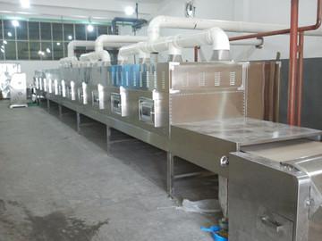 隧道式人造大米微波干燥设备价格、人造大米干燥杀菌防霉设备厂家