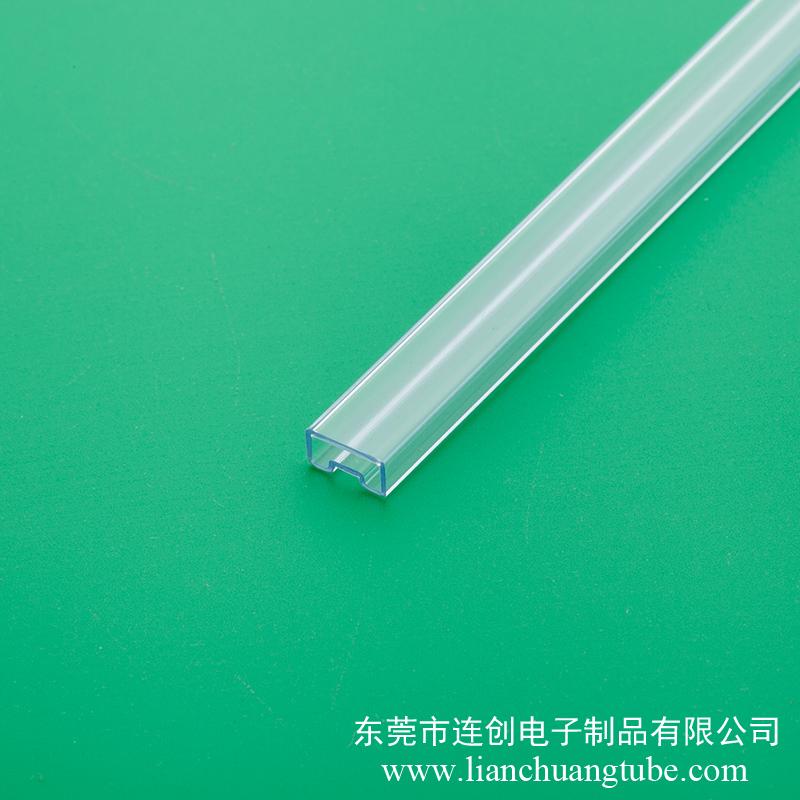供应微型8脚贴片封装料管MSOP8吸塑管PVC包装管