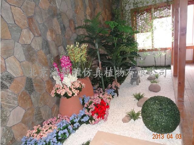 具有口碑的植物造景提供商、当属海智雅仿真植物植物造景市场