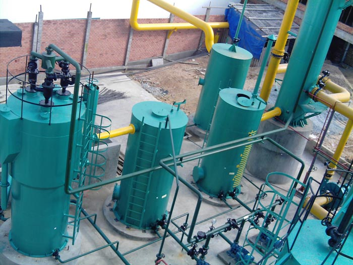 脱硫设备专业供应商:污水沼气脱硫