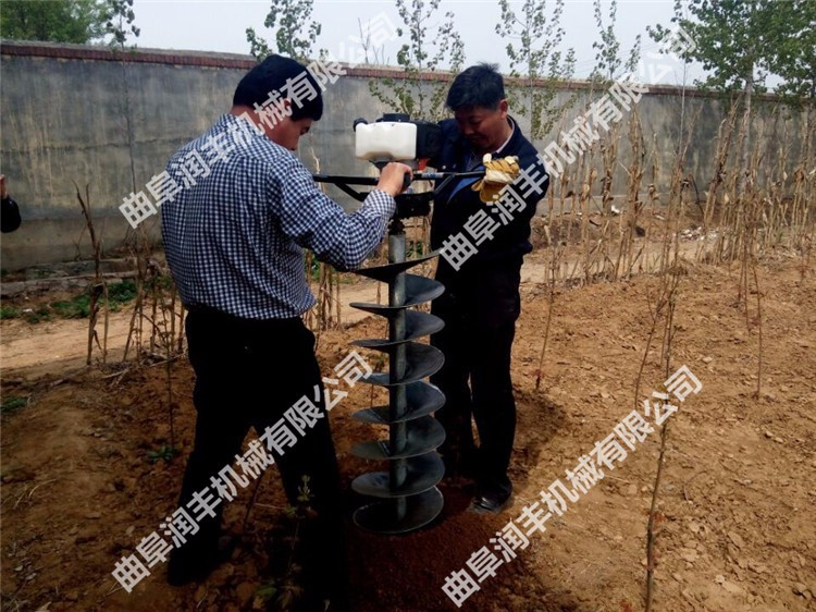 武汉拖拉机带动挖坑机规格武汉果树种植打穴机