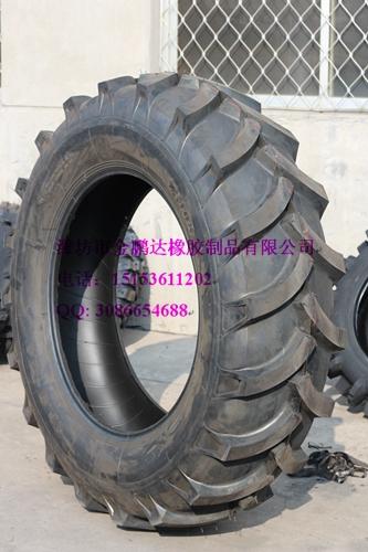 全新三包品质农用16.9-34人字花纹拖拉机轮胎