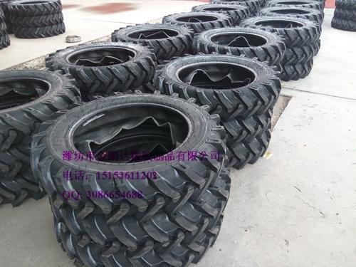 拖拉机前轮9.5-24人字花纹轮胎 农用胎直销报价