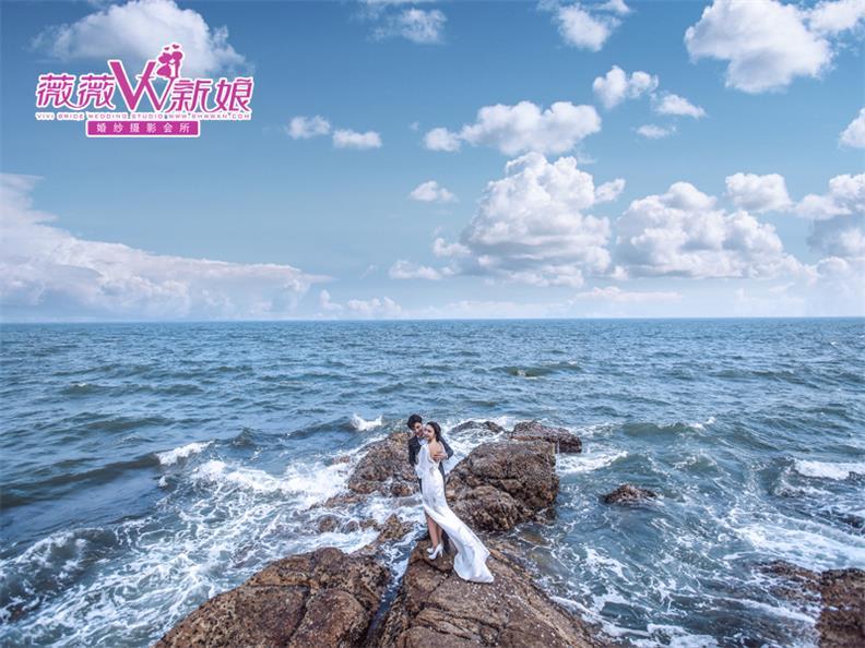 时尚经典婚纱、广东口碑好的薇薇新娘婚纱摄影公司